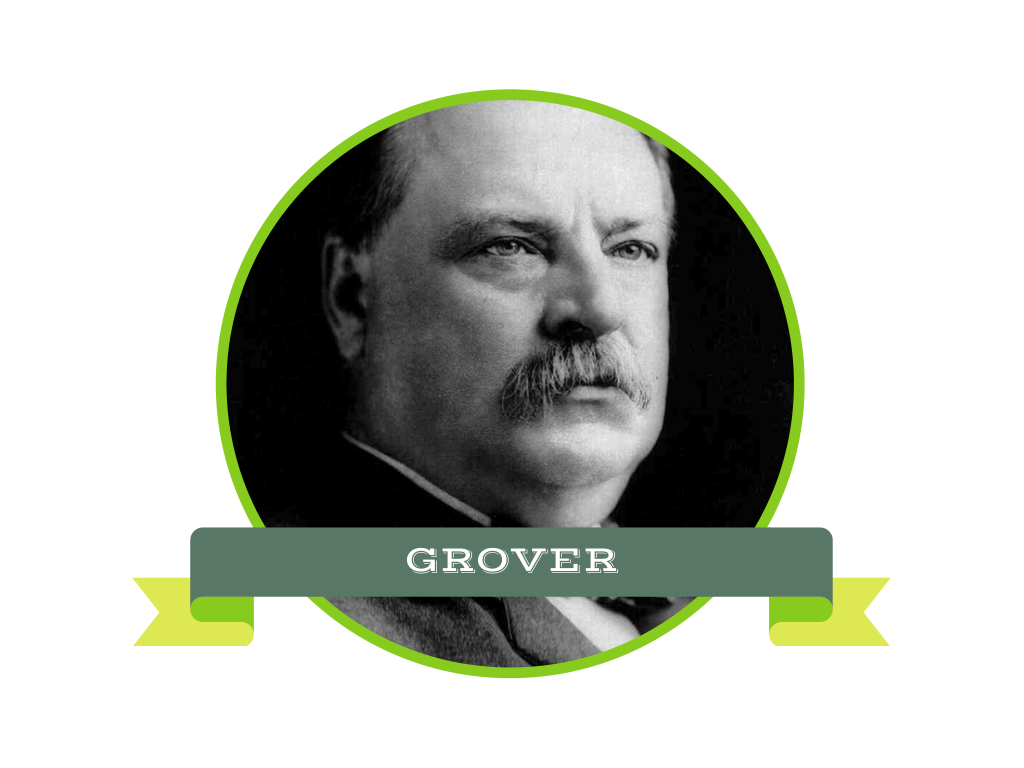 grovercleveland white background