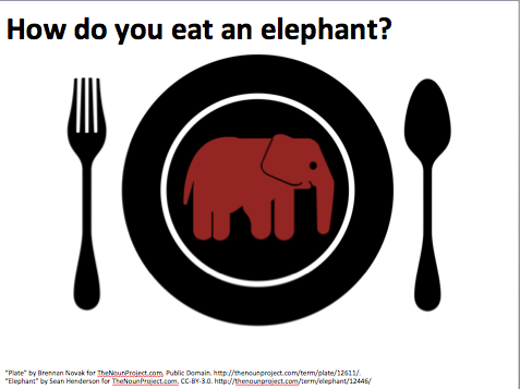 howdoyoueatanelephant