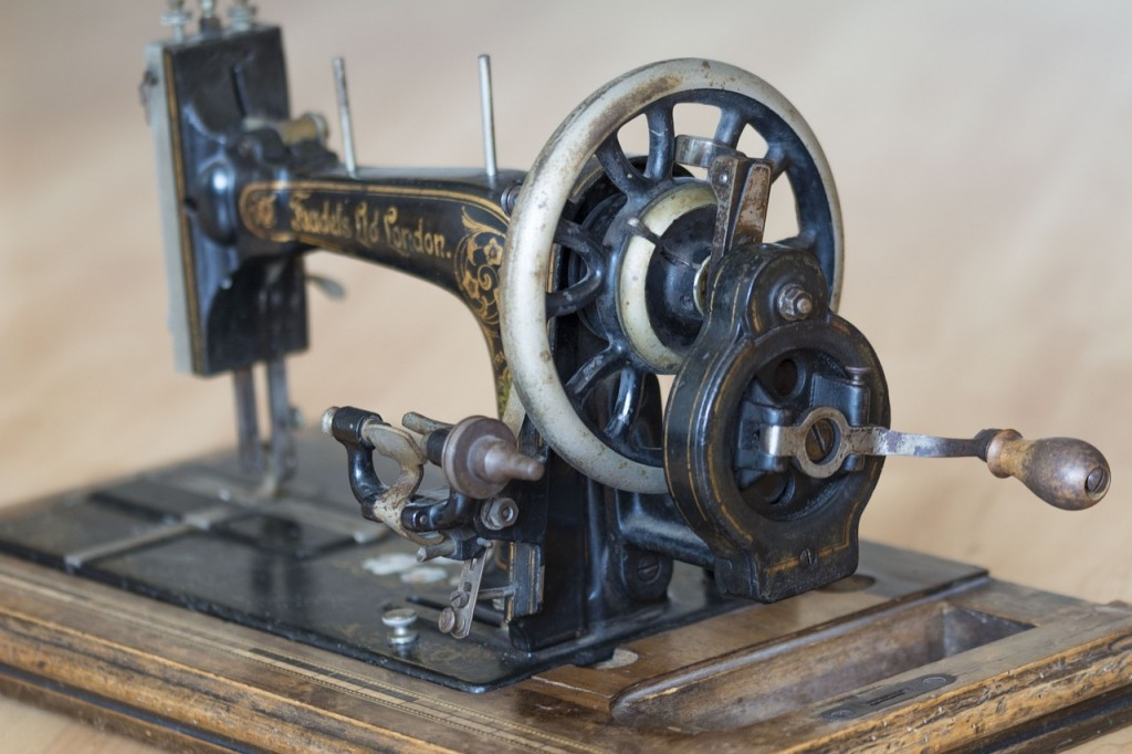 Decorative Image: Antique sewing machine